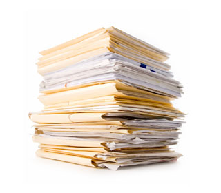 Photo - Stack of Documents